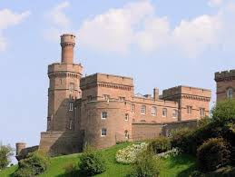 Inverness Castle near Home Farm Bed and Breakfast, Muir of Ord