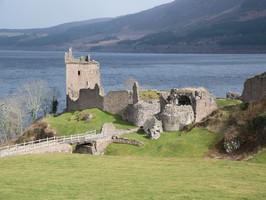 Urquhart Castle Loch Ness near Home Farm B&B Highlands of Scotland