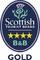 Visit Scotland 4* Gold Award
