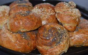 Fresh Baked Bread Rolls at home Farm BandB