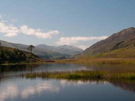 Glen Strathfarrar a short drive from Home Farm B&B