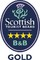 Visit Scotland 4* Gold Award